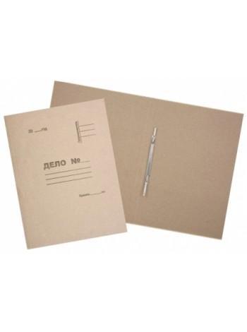 Папка картонная «Дело» со скоросшивателем 0.6мм, Полиграфкомпонент