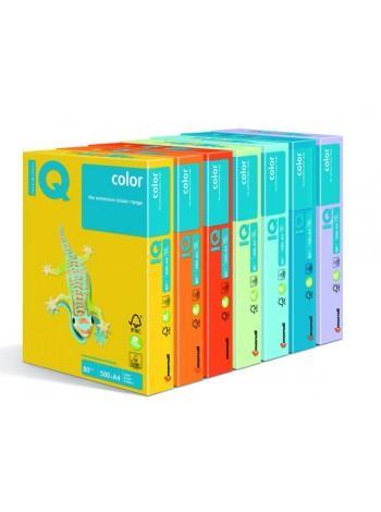 Бумага IQ COLOR, пл.  80г/м2, ф.А4, 500л, интенисвные тона