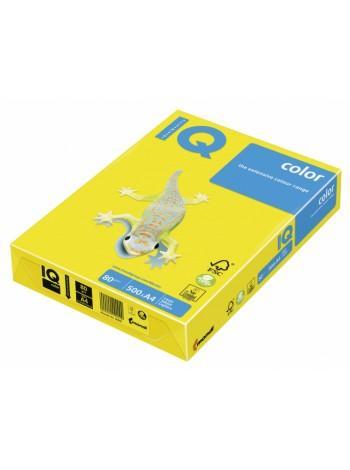 Бумага IQ COLOR, пл.  80г/м2, ф.А4, 500л, неоновые тона