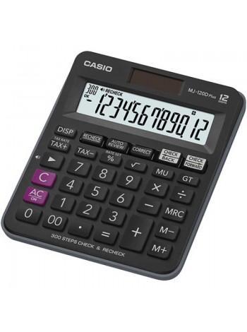 Casio Калькулятор настольный 12-разрядный MJ-120DPLUS
