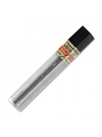 "PENTEL Грифели для автоматического карандаша ""Hi-Polymer Super Lead"", 12 шт/уп"
