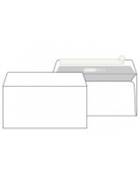 PackPost Конверт E65 DL OFFICEPOST, внутр.запечатка, прямой клапан, силик. лента, 80 г/м2, 110x220