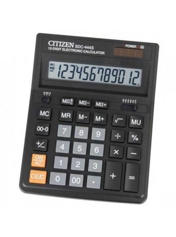 CITIZEN Калькулятор настольный 12-разрядный SDC-444S