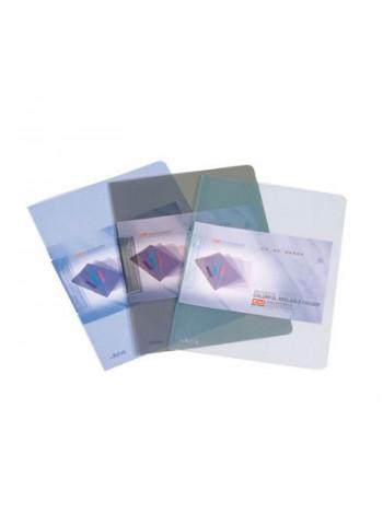 DELI Папка с клипом прозрачная