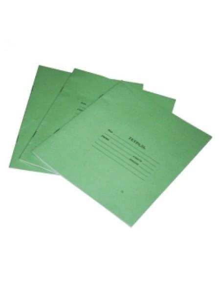 ТетраПром Тетрадь А5, 12л., зеленая
