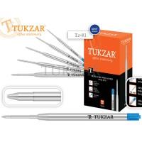 TUKZAR Стержень шариковый объемный металлический корпус, синий, тип G2
