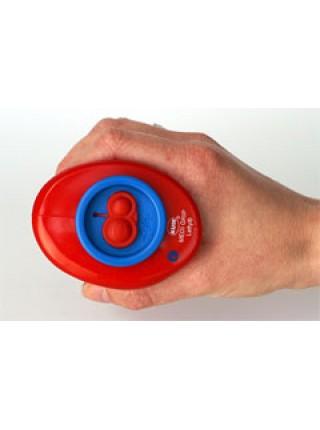 KUM Точилка для карандашей c контейнером, 2-отв., для левшей, пластик, Med M2 LF