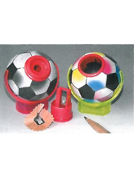 KUM Точилка для карандашей c контейнером, 1-отв., пластик, 3040 BU Football