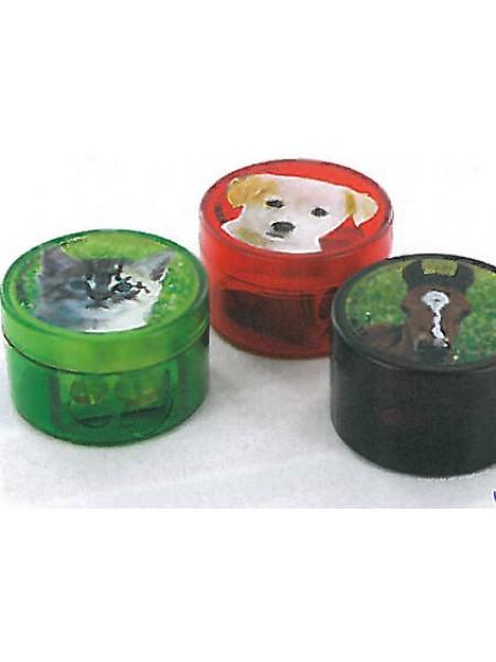 KUM Точилка для карандашей, 2-отв., пластик, 208М2 Animals