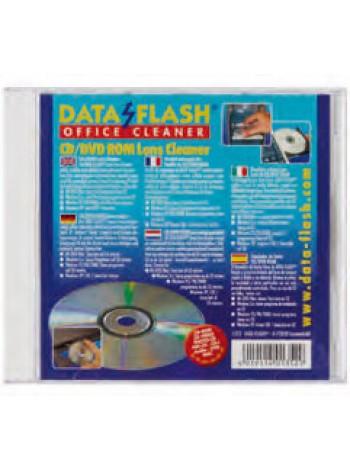 Data-Flash Чистящий диск для CD, DVD и Blu Ray проигрывателей