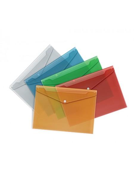 FORPUS Папка-конверт на кнопке, А4
