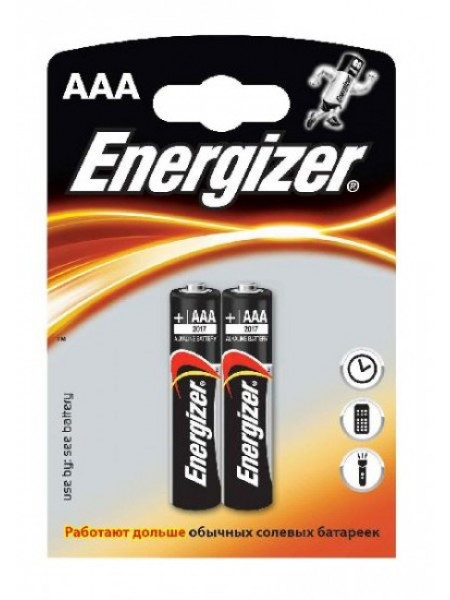 Energizer BASE Батарея гальваническая щелочная (alkaline) AAA, LR3, 2шт