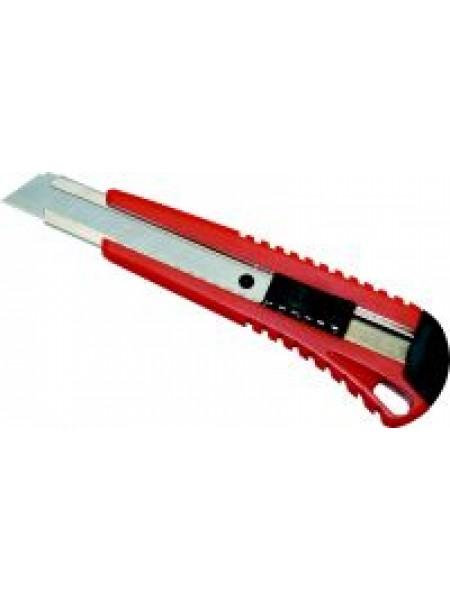 LACO Нож канцелярский С18 усиленный, с 2-мя запасными лезвиями