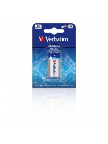 "VERBATIM Батарея ""Крона"" 9V 6LR61 Alkaline"