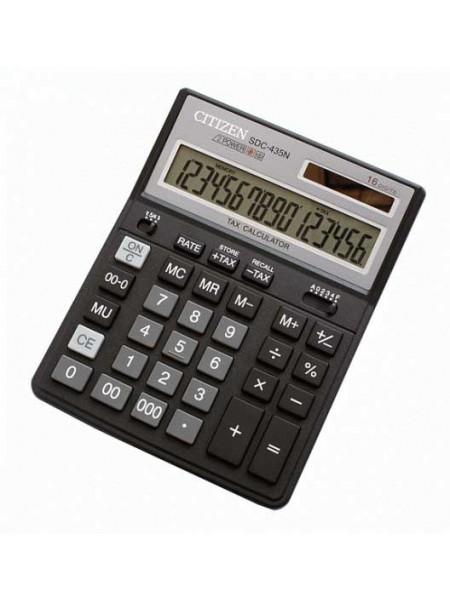 CITIZEN Калькулятор настольный 16-разрядный SDС-435N