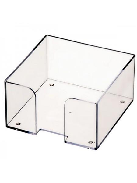 СТАММ Пластбокс прозрачный для бумажного блока 9*9*5