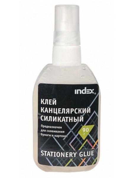INDEX Клей силикатный,  90 гр, с дозатором