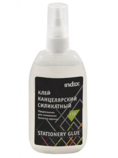 INDEX Клей силикатный, 110 гр, с дозатором