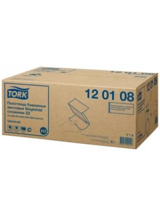 TORK Полотенца бумажные листовые Singlefold сложения ZZ однослойные (250 л./уп)