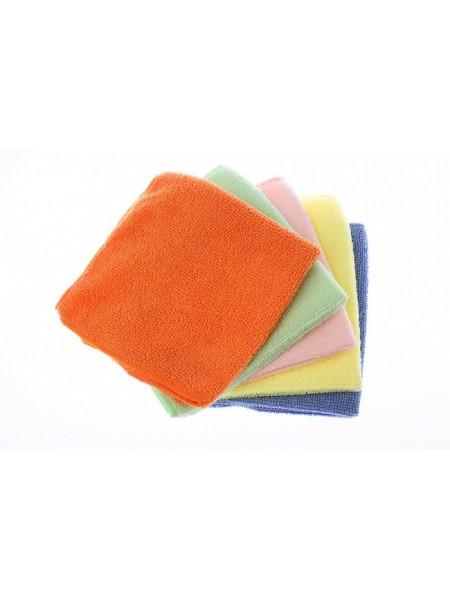 Набор салфеток из микрофибры MF-12 (30*30 см) 5 шт.