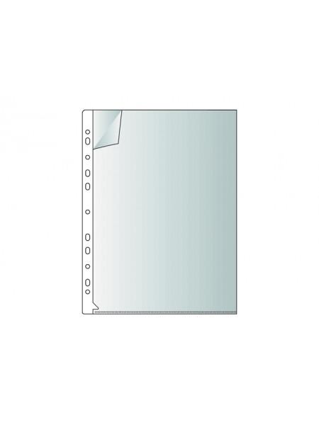 РЕГИСТР Папка-уголок с боковой перфорацией, А4, 180 микрон, 25 шт/уп