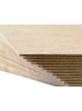 "Переплетный картон формата А4 (210 х 297 мм), цвет серый ""Сураж"", 1.5 мм"
