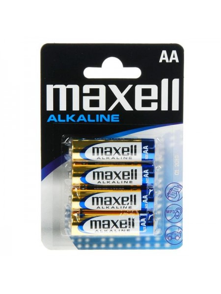 MAXELL Батарея AA Alkaline LR06, 4шт, блистер