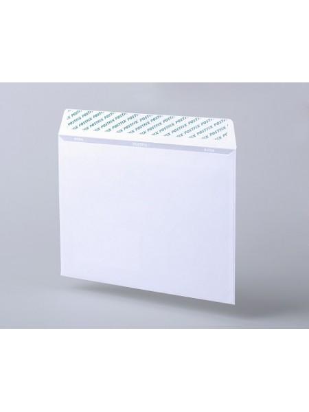 PostFix Конверт C5, белый, силиконовая лента, внутренняя запечатка, 80 г/м2, 162x229