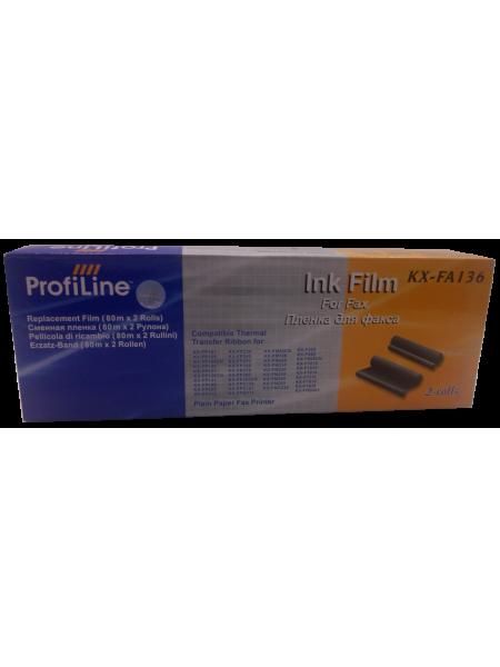 PROFILINE Термолента для факса Panasonic KX-FA136 (упаковка - 2 шт)