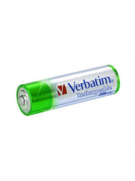 VERBATIM Аккумулятор  АА 2500 мАч Premium NiMH (блистер по 4 шт.) 49941