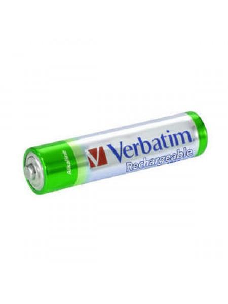 VERBATIM Аккумулятор АAА 1000 мАч Premium NiMH (блистер по 4 шт.) 49942