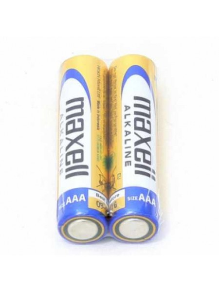 MAXELL Батарея AAA Alkaline LR03, 2 шт. в пленке