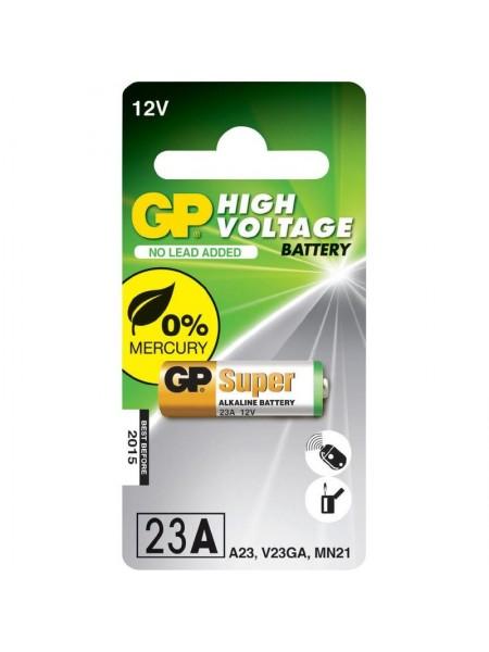 GP Батарейка для автосигнализаций 23AE блистер по 5 шт.