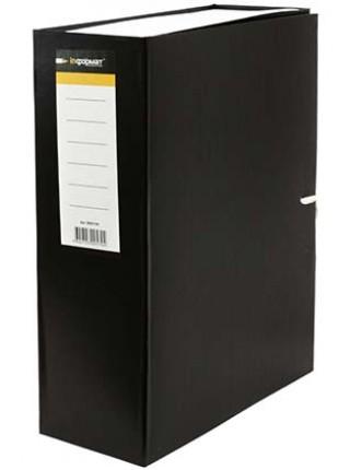 inФормат Короб архивный бумвиниловый на завязках, корешок 100 мм, 240 х 320 х 100 мм, вертикальный
