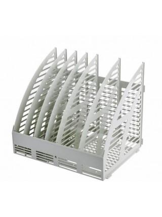 ЭСИР Лоток вертикальный сборный, 320х240х290 мм, 6 секций