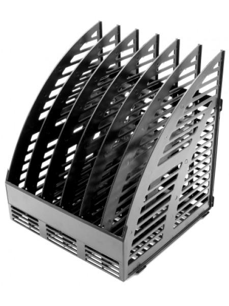 ЭСИР Лоток вертикальный сборный, 250х240х290 мм, 6 секций