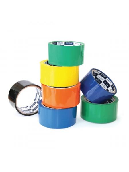 Klebebander Скотч упаковочный цветной 48мм*56м, 40 мкн.