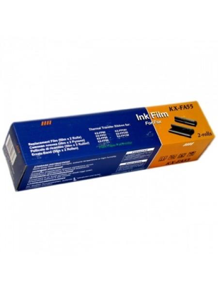 PROFILINE Термолента для факса Panasonic KX-FP 80 (KX-FA55A) (упаковка - 2 шт)