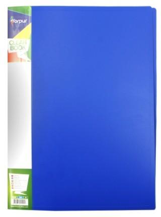 FORPUS Папка пластиковая на 2-х кольцах, 20 мм