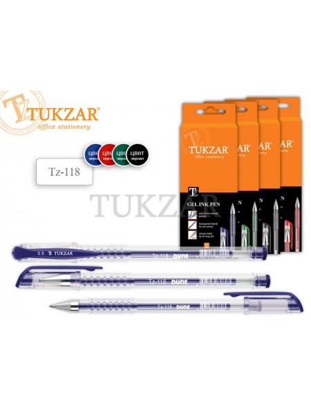 TUKZAR Ручка гелевая TZ-118