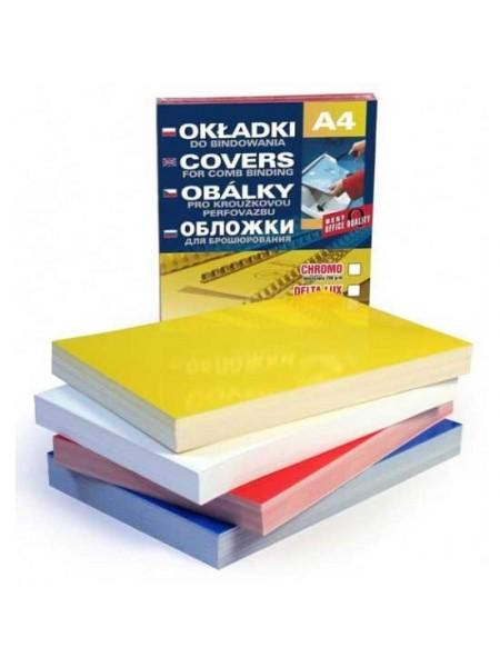 ARGO Обложка для переплета картонная глянцевая  А4, 250mic (100 шт.)