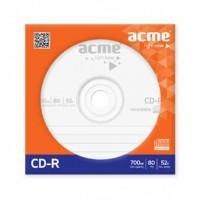 Acme CD-R диск 700Mb 52х в бумажном конверте с окном