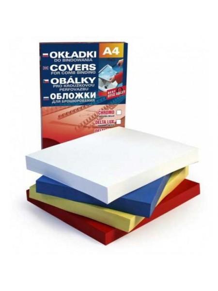 ARGO Обложка для переплета картонная с тиснением под кожу A4, 250 г/м2 (100 шт.)