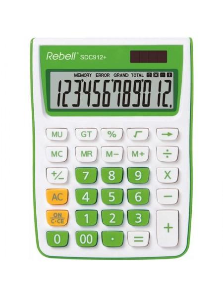 Rebell Калькулятор настольный 12-разрядный 912+