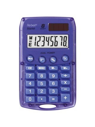 Rebell Калькулятор карманный  8-разрядный Starlet