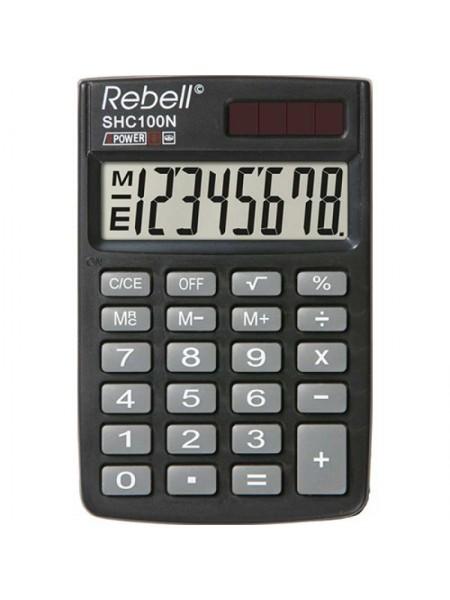 Rebell Калькулятор карманный  8-разрядный SHC100N