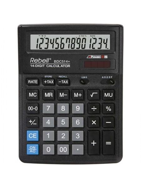 Rebell Калькулятор настольный 14-разрядный SDC554+ BX