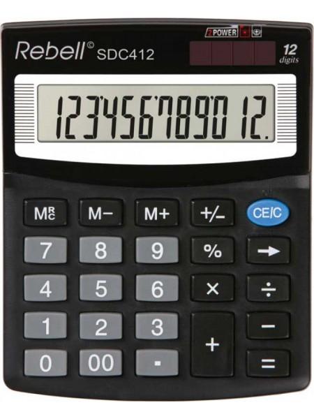 Rebell Калькулятор настольный 12-разрядный SDC412 BX