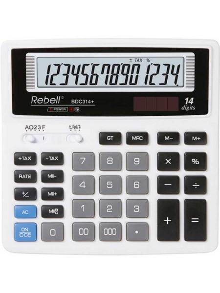 Rebell Калькулятор настольный 14-разрядный SDC640