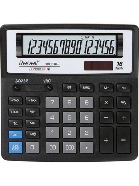 Rebell Калькулятор настольный 16-разрядный SDC660 BX